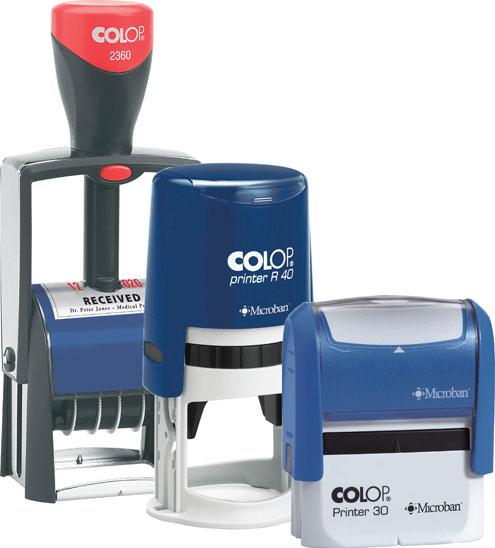 Печати, оснастки материалы для их изготовления и другая штемпельная продукция