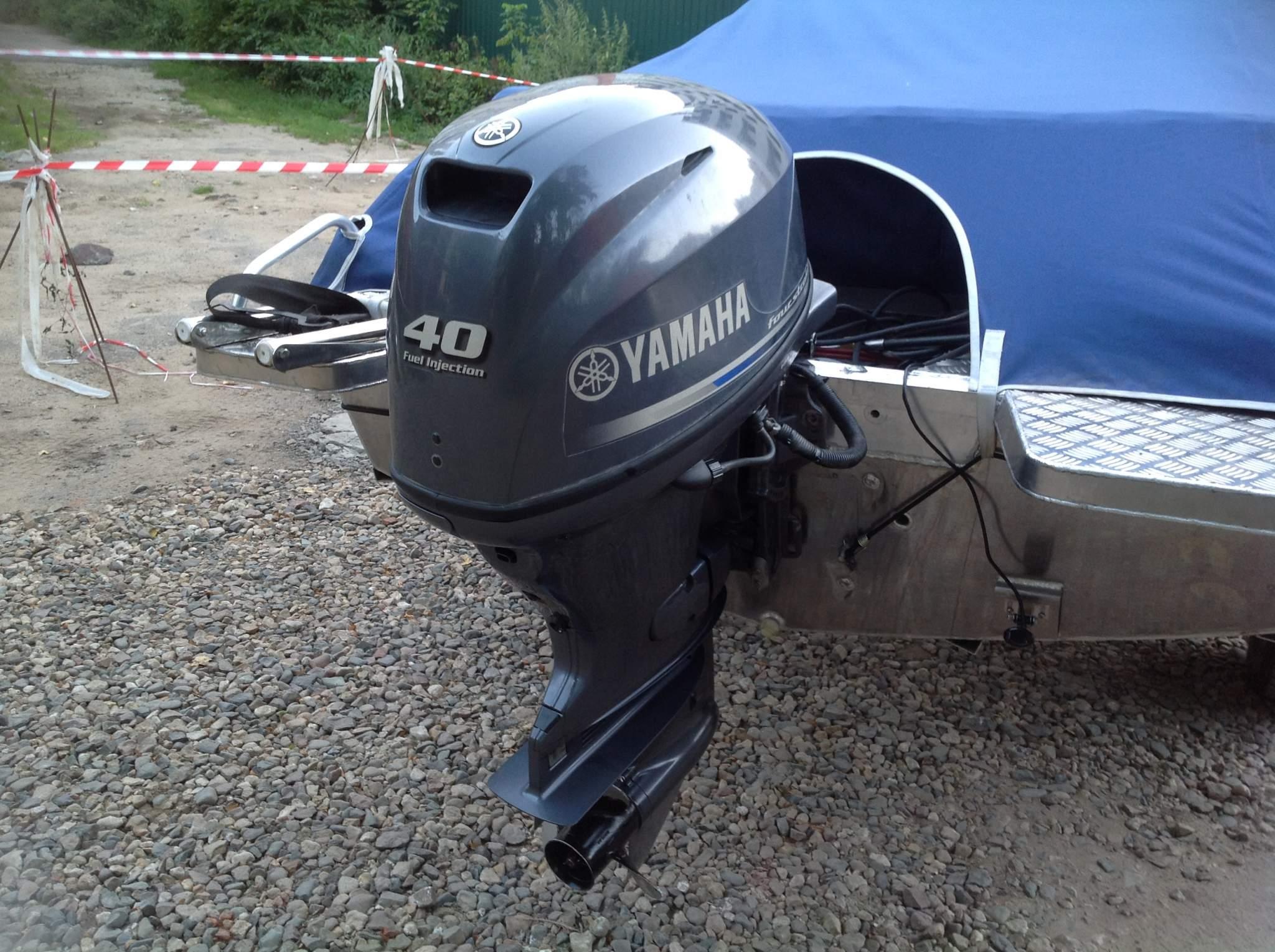 подвесной лодочный мотор ямаха-40 четырехтактная