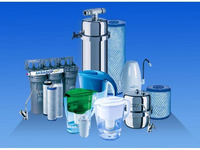 Водяные фильтры от опасных типов загрязнений воды