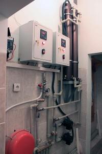 Индукционные нагреватели отопление  КПД 98