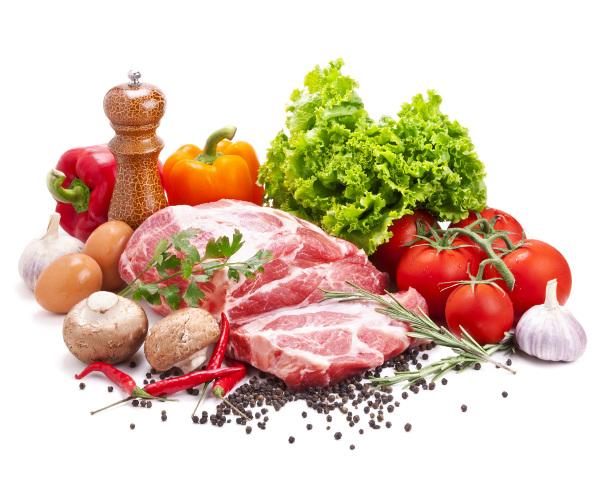 Фермерское  мясо и овощи