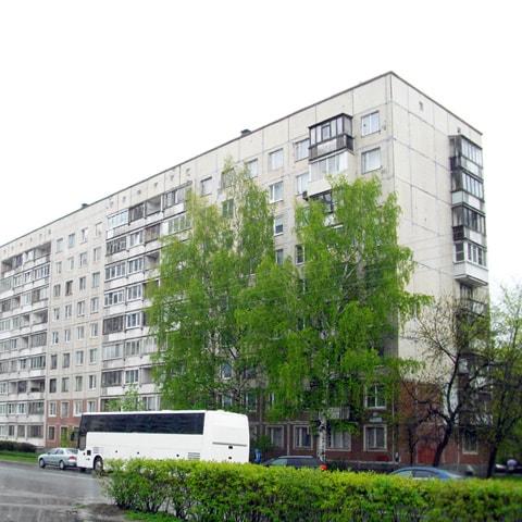 Две комнаты 31 кв.м в четырехкомнатной квартире