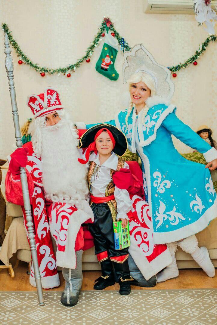 Дед мороз и Снегурочка в Краснодаре