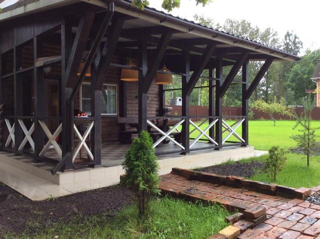 Выходные и праздники в новом стильном двухэтажном доме с БАНЕЙ на дровах