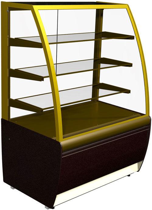 Витрина холодильная ВХСв-0.9д Carboma. Холодильная витрина для магазина,кафе