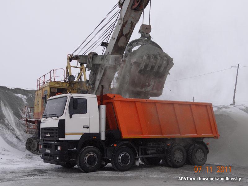 Водители категории С на самосвалы. Вахта в Москве