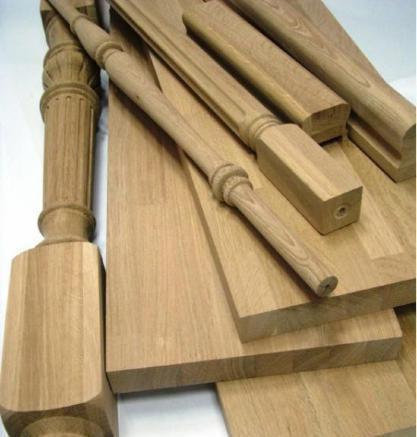 Балясины и столбы из сосны, дуба