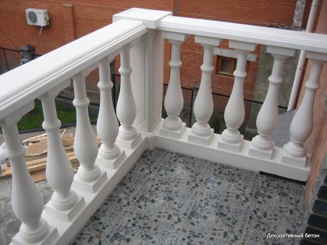 балясина архитектурного бетона