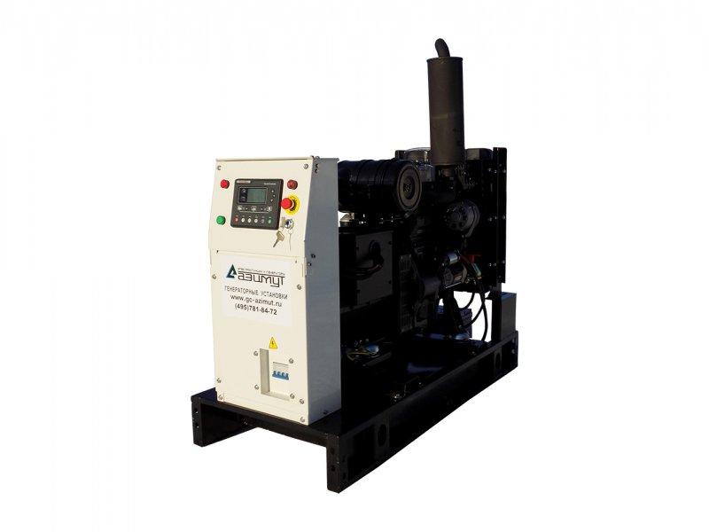 Дизель генератор мощностью 8 кВт Азимут, АД-8С-Т400-1РМ11 от производителя.