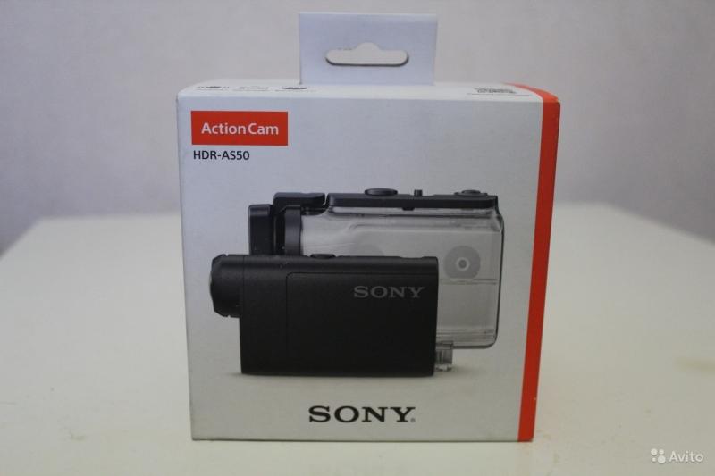 Экшн камера Sony hdr as 50 новая