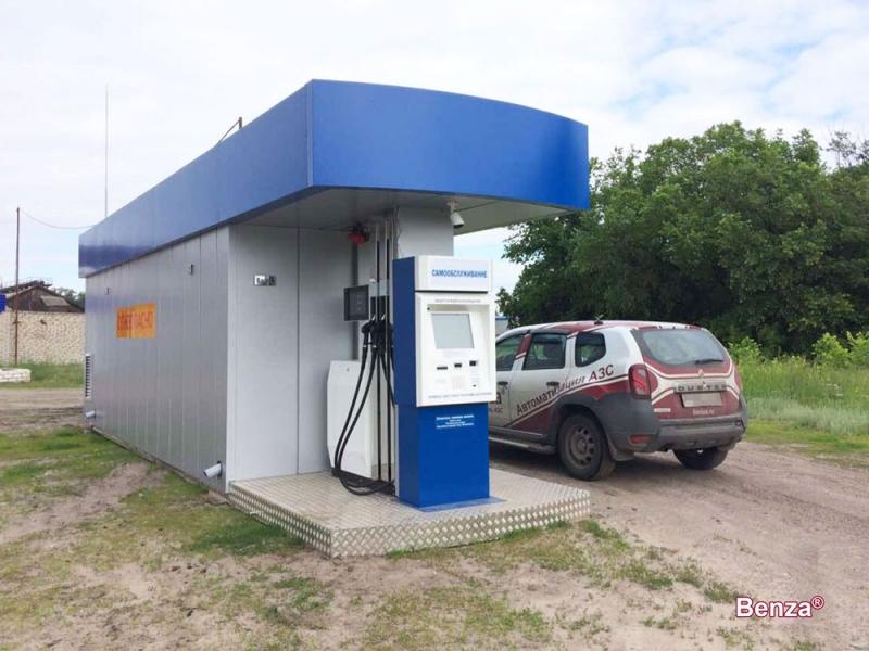 Производство КАЗС Benza