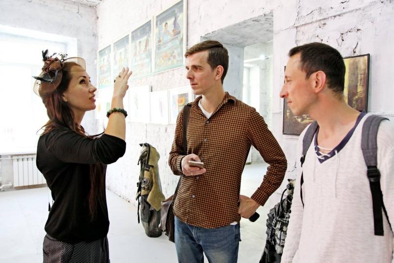 Художественная выставка Ростов-на-Дону. Улицы, дома, воспоминания