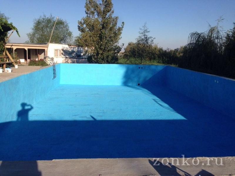 Краска для бассейнов резиновая от производителя