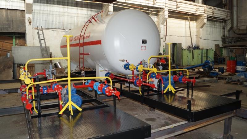 Установка газовая моноблочная 12 м3 по 975000 рублей