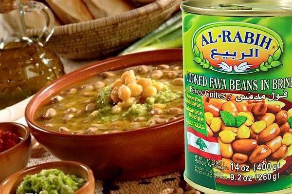 Ливанские продукты консервы, сладости, хумус