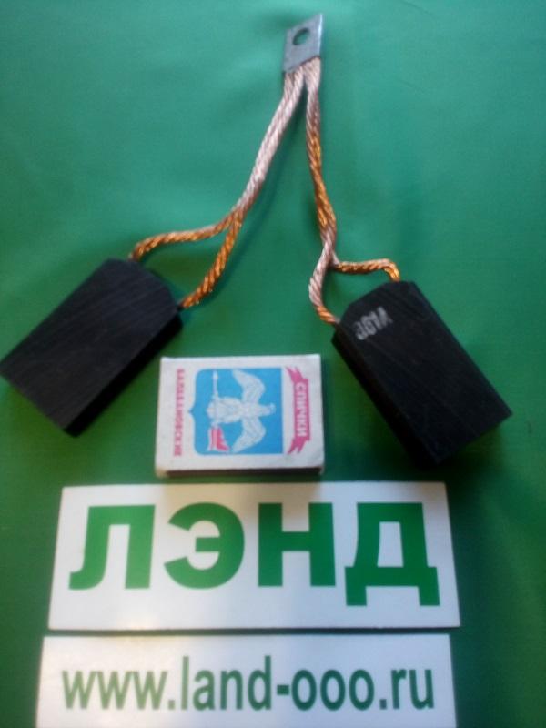 щетка электрографитовая ЭГ-61-А-2,212, 5х32х57