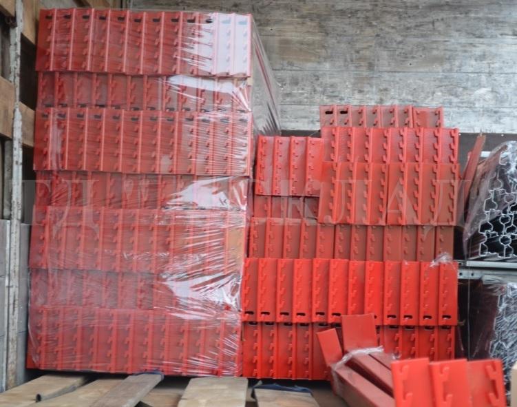 Балки для паллетных стеллажей 2700х95х1.2 до 1300 кг