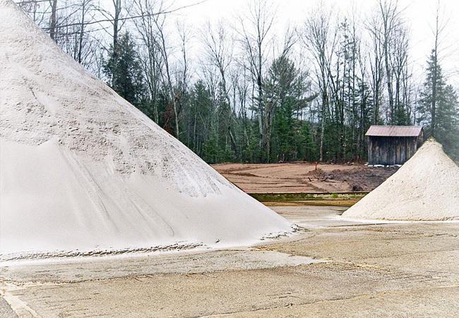Белый песок машина 15 тонн