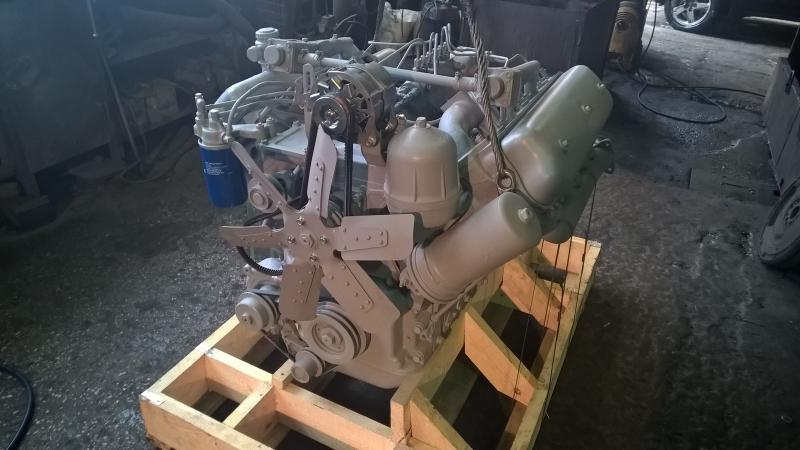 Двигатель ЯМЗ236М2