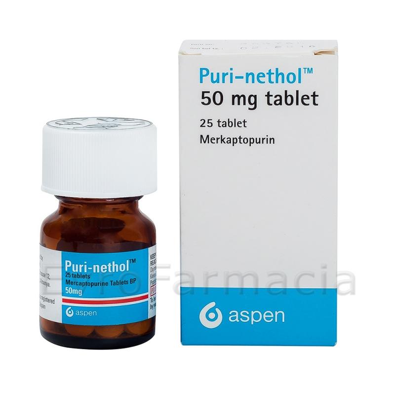 Пури-нетол  Puri-Nethol 50 mg 25 таблеток